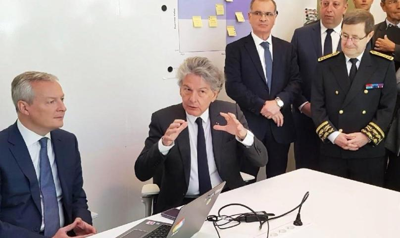 Atos y Google Cloud inauguran un laboratorio de inteligencia artificial en Francia
