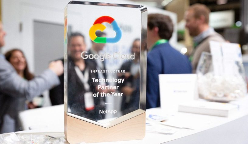 NetApp recibe el galardón Technology Partner of the Year for Infrastructure 2018 de Google Cloud