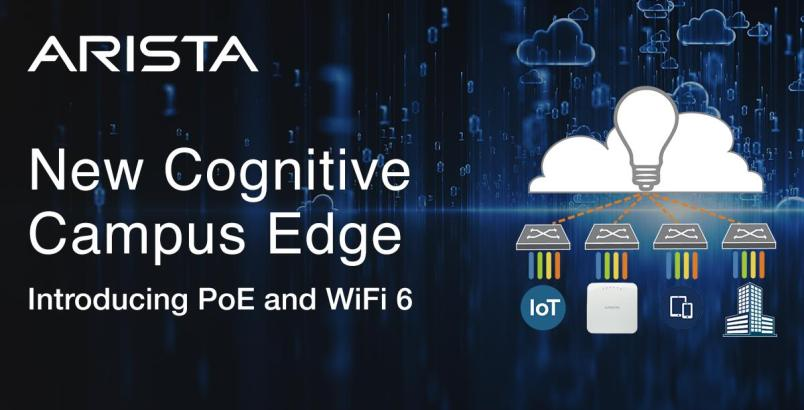 Arista Cognitive Cloud Networking redefine el campus