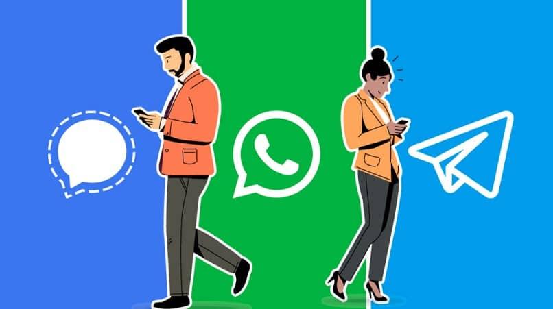 Signal_Whatsapp_Telegram